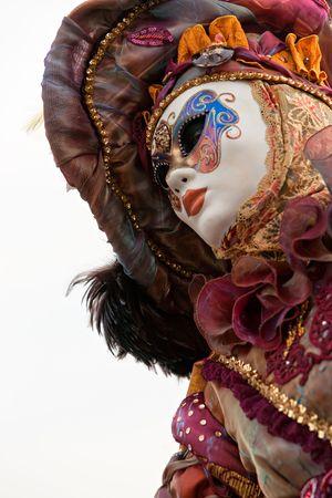Carnival mask in Venice, Italy. photo