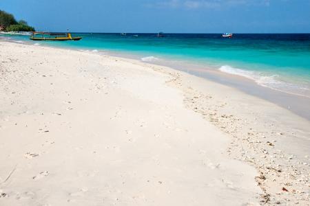 Beautiful sea and coastlines of Gili Meno, Indonesia  Stock Photo - 17359195