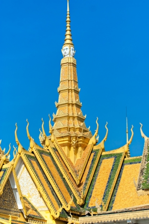 Grand Palace, Pnom Penh, Cambodia  photo