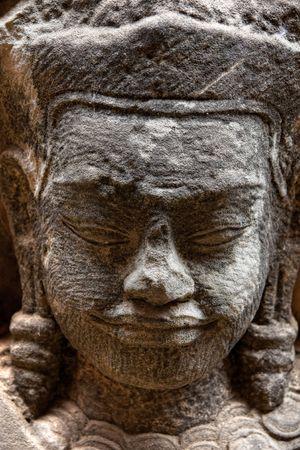 Buddha face, Sukhothai, Thailand. Stock Photo - 6649478