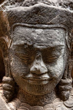 Buddha face, Sukhothai, Thailand. Stock Photo - 6649478
