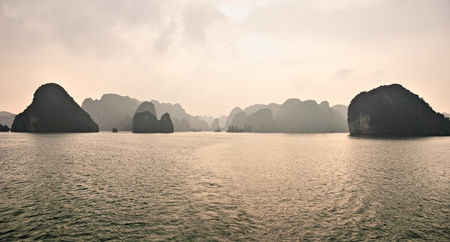 Halong Bay, Vietnam. photo