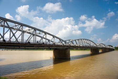 parfum: Bridge on the parfum river, Hue, Vietnam   Unesco World Heritage Site