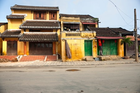 View on the old town of Hoi An  Vietnam  Unesco World Heritage Site   Stock Photo - 17646848