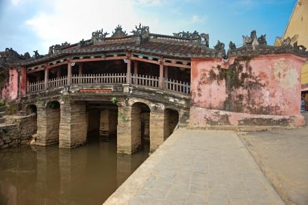 japanese bridge: Japanese Bridge in Hoi An  Vietnam, Unesco World Heritage Site