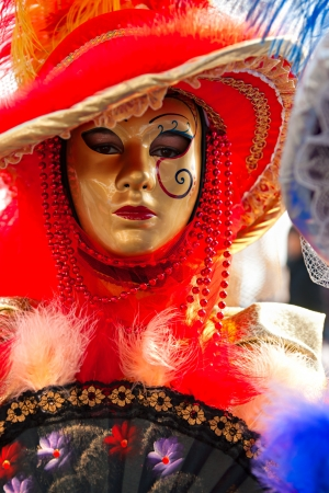 Carnival mask in Venice, Italy  photo