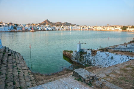 View of the City of Pushkar, Rajasthan, India  Stock Photo - 17646809