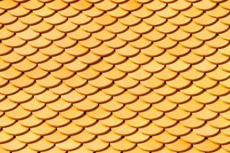 buddhist temple roof: Close-up pictures ofthe roofs tiles of Wat Phra Kaeo Temple, bangkok, Thailand.