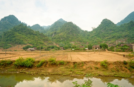 North Vietnamese Landscape. photo