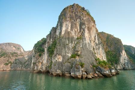 Halong Bay, Vietnam. Unesco World Heritage Site. Most popular place in Vietnam. photo