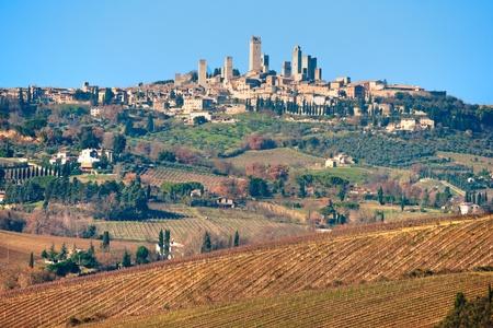 Tuscany landscape, Chianti area, Italy.