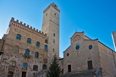 View of san gimignano, Siena, Tuscany, Italy Stock Photo - 17646871