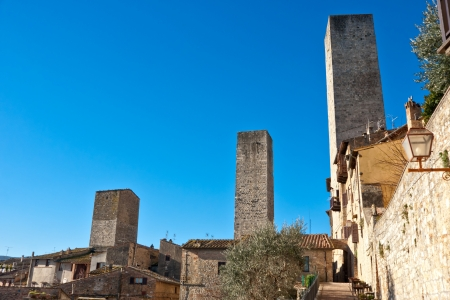View of san gimignano, Siena, Tuscany, Italy  photo