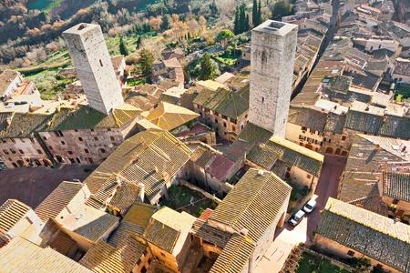 View of san gimignano, Siena, Tuscany, Italy. Stock Photo - 8570778