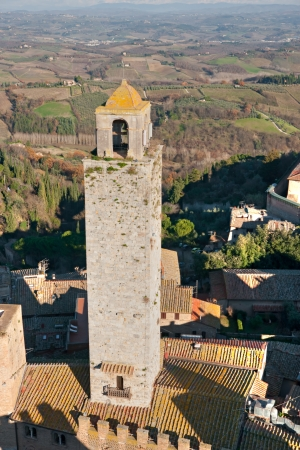 View of san gimignano, Siena, Tuscany, Italy Stock Photo - 17646881