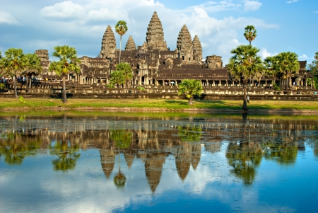 Angkor Wat Temple, Siem reap, Cambodia. Banque d'images