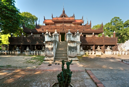 birma: Golden Palace Monastery, Mandalay, Myanmar Birma