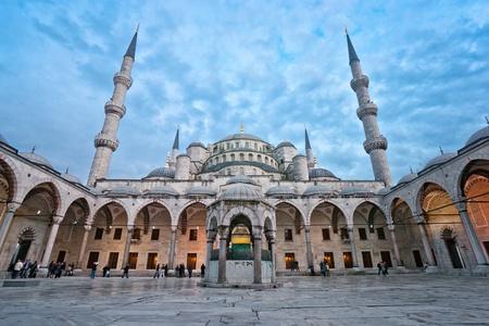 The Blue Mosque, (Sultanahmet Camii), Istanbul, Turkey. photo