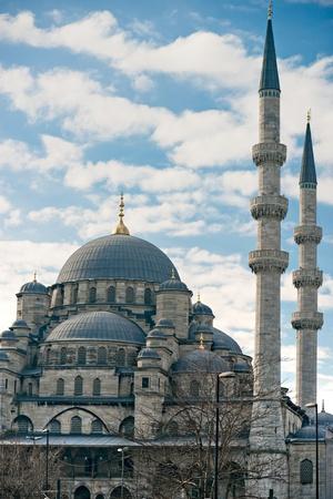 The Yeni Cami (New Mosque), Eminonu, Istanbul, Turkey. photo