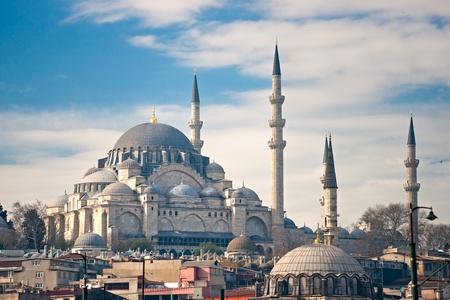 The beautiful Süleymaniye Camii  Istanbul, Turkey.