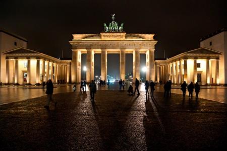 BRANDENBURG GATE,  Berlin, Germany. photo