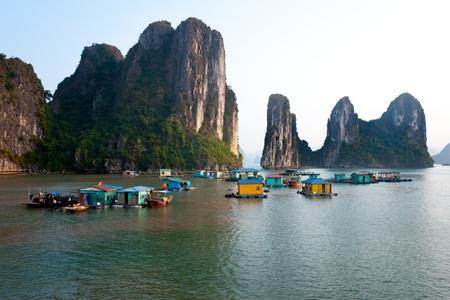 Halong Bay, Vietnam. Unesco World Heritage Site. Most popular place in Vietnam. Stock Photo