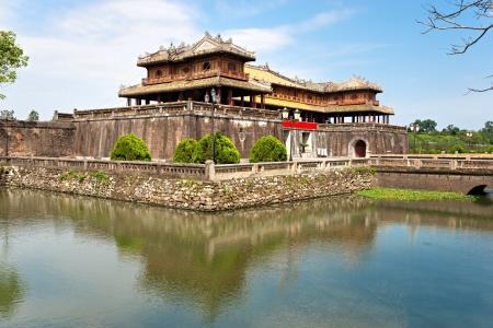 citadel: Entrance of Citadel, Hue, Vietnam  Editorial