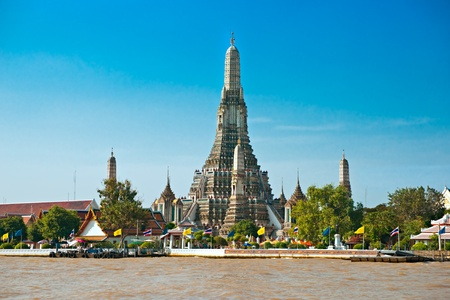 Wat Arun, The Temple of Dawn,  Bangkok, Thailandia. Stock Photo - 8785173
