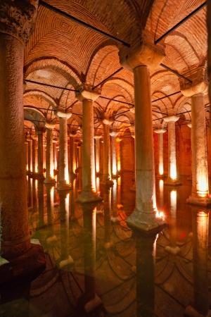 Underground Basilica Cistern, Istanbul, Turkey