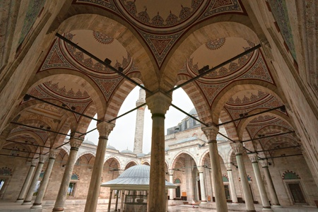 fatih: The Fatih Mosque, Fatih district, Istanbul, Turkey.