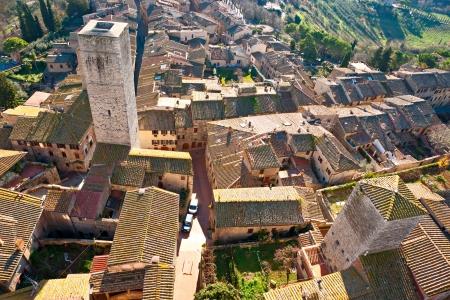 View of san gimignano, Siena, Tuscany, Italy Stock Photo - 17646940