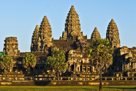 Angkor Wat at sunset, Cambodia. Stock Photo - 8955551