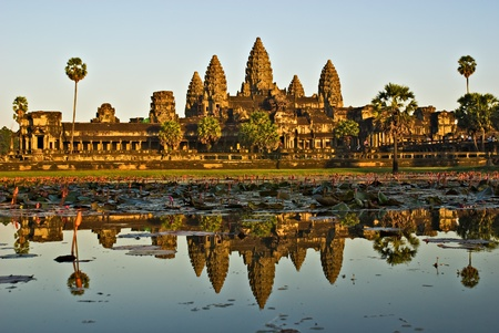 siem: Angkor Wat Temple, Siem reap, Cambodia. Stock Photo