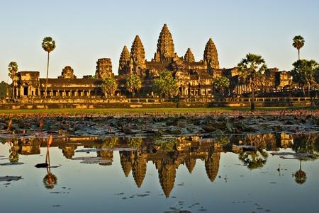 mekong: Angkor Wat Temple, Siem reap, Cambodia. Stock Photo