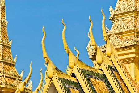 penh: Grand Palace, Pnom Penh, Cambodia  Stock Photo