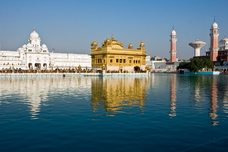 amritsar: Golden Temple, Amritsar, Punjab, India.