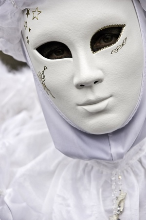 Venice carnival mask, italy.