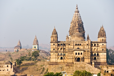 Palace in Orcha, Madhya Pradesh, India