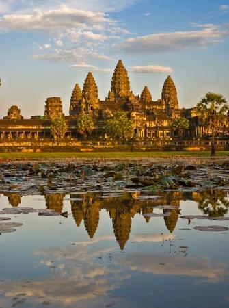 angkor wat: Angkor Wat at Sunset, Cambodia.