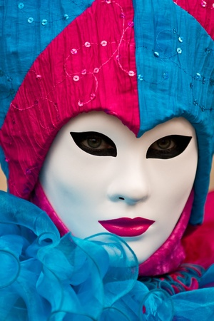mask in Venice, Italy. photo