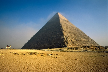 The Chefren Pyramid, Giza, Egypt. photo