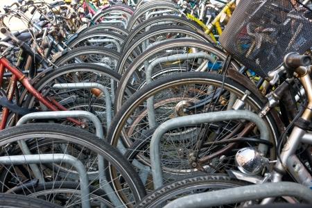 sightsee: Bike Parking, Amsterdam  Holland