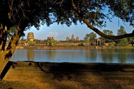 siem reap: Angkor Wat Temple at sunset, Siem reap, Cambodia