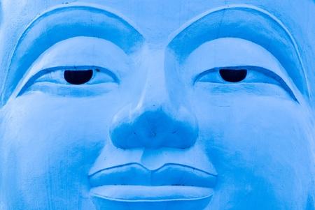Buddha face, Sukhothai, Thailand. photo