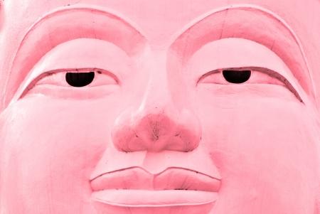 Buddha face, Sukhothai, Thailand  Stock Photo - 17647296