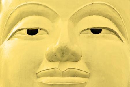 3rd ancient: Buddha face, Sukhothai, Thailand  Stock Photo