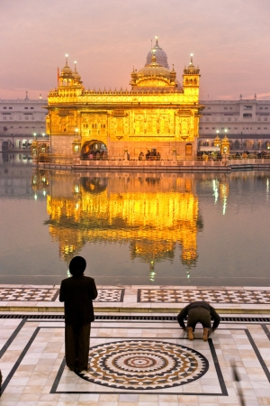 Golden Temple in Amritsar, Punjab, India Stock Photo - 17655592
