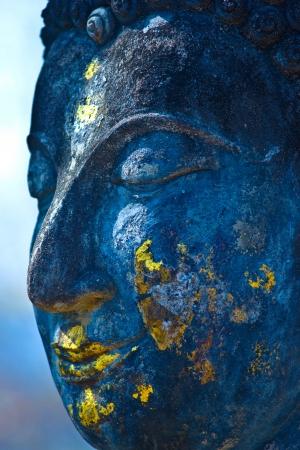 Buddha face, Sukhothai, Thailand  Stock Photo - 17655633