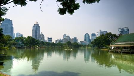 lumpini: Lumpini Park, bangkok, Thailand