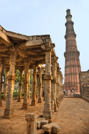 quitab: Qutb Minar, new Delhi, India